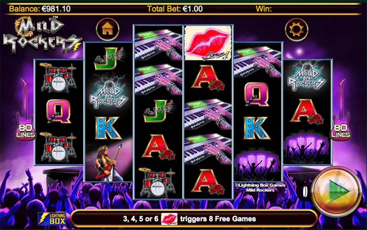 Spiele Mild Rockers - Video Slots Online