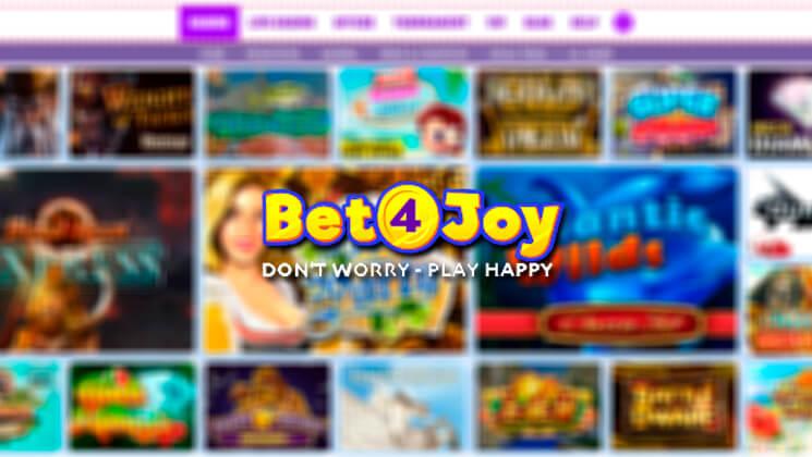 bonus bet4joy